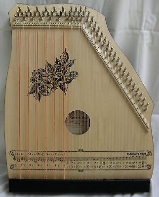 AKKORDZITHER GITARR - MANDOLIN - ZITHER 100/4 natur