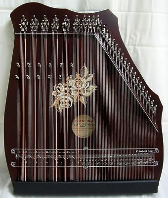 AKKORDZITHER GITARR-  MANDOLIN - ZITHER 100/6 mahagoni