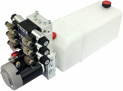 POWER-PACK (M-P-T) 12V/2KW/2,6ccm  5L-Tank - 3 x  , ...