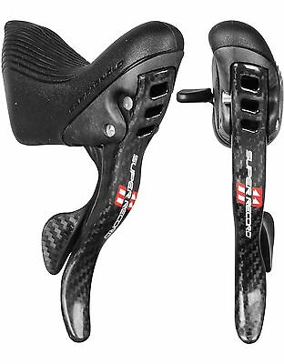 Campagnolo Super Record 11 Speed Ultrashift Ergopower Carbon Levers