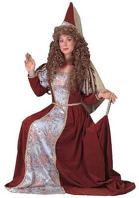 Medieval Woman Deluxe Theatrical Quality Costume BLACK DRESS - Large 10-14