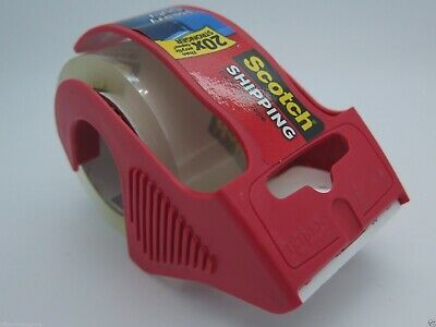 3M Scotch 142 Super Strength Packaging Tape & Dispenser 50.8mmx20.3M 70005178812