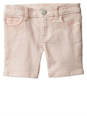 Baby GAP Toddler Girls Bermuda Denim Shorts Pink Cameo Size 12-18 months NWT
