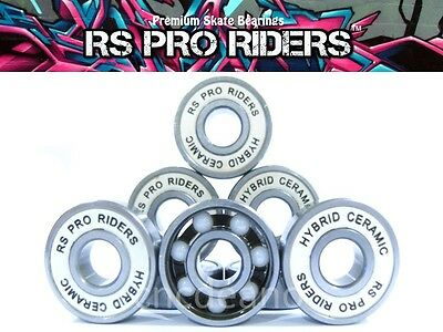Premium Hybrid Ceramic Bearings 608 Rs Skateboard Scooter Inline Roller Skate