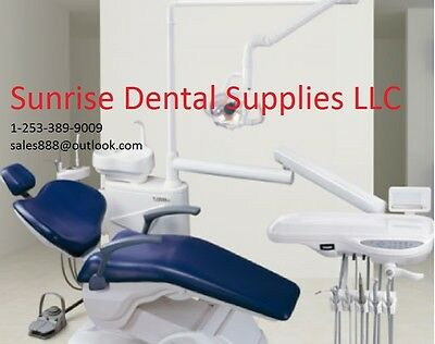 B2--New FDA/CE Approved Computer Controlled Dental Unit Chair SOFT Leather---B2