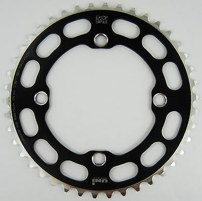 Porkchop BMX Chop Saw I single speed bicycle chainring 41T 4 bolt 104 bcd GOLD