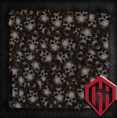 Hydrographic Water Transfer Film Hydrodipping Hydro Dip Vampire Fang Skulls