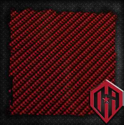 Hydrographic Water Transfer Hydrodipping Film Hydro Dip Red Carbon Fiber Print