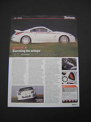 Nissan 350Z Nismo Brief Road Test from 2005 - Original