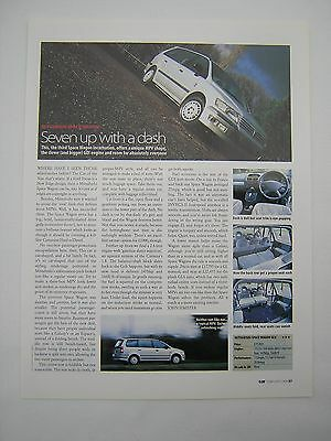 Mitsubishi Space Wagon GLX Road Test from 1999 -  Original