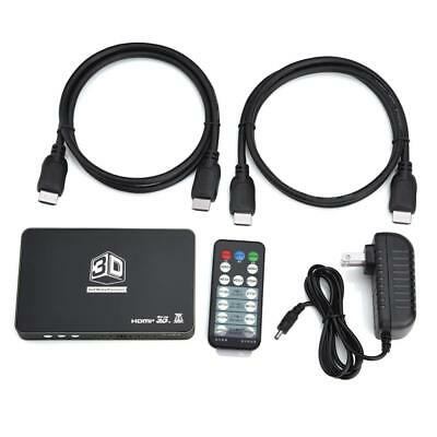 2HDMI 2D To 3D Converter 1.4 HD 120Hz Video Fr Ready DLP Projector w/ Controller