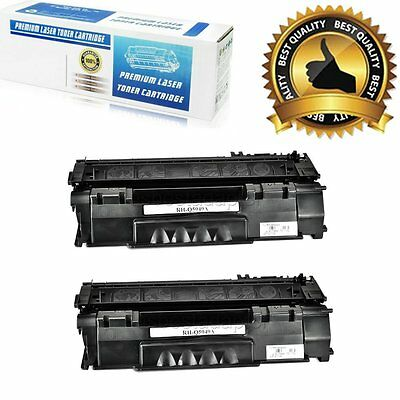 2 PK HP Q7553A 53A Toner Cartridge for HP P2015 P2015dn P2015x LaserJet