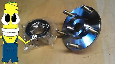 Front Wheel Hub and Bearing Kit Assembly for Mazda 3 2005-2013 with ABS