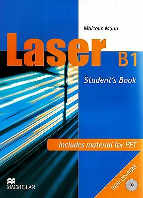 Macmillan LASER B1 Student's Book with CD-ROM & PET Material I Malcolm Mann @NEW