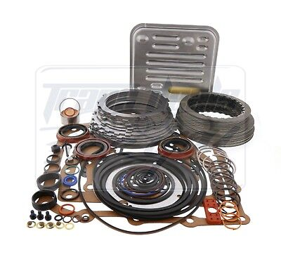 A604 Transaxle Transmission Deluxe Overhaul Rebuild Kit 1990-Up A-604