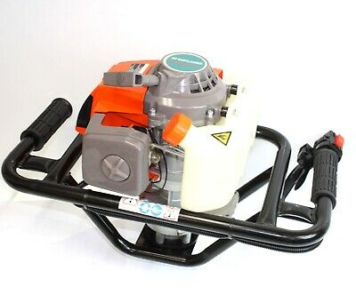 EPA 63cc Auger Post Hole Digger Gas 2.5HP Single Person Machine Fence, Pot Hole,