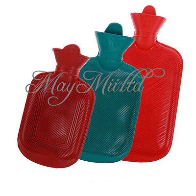 Rubber Warmer Relaxing Home Outdoor Camping Heat Hot Cold Water Bag Bottle LZ