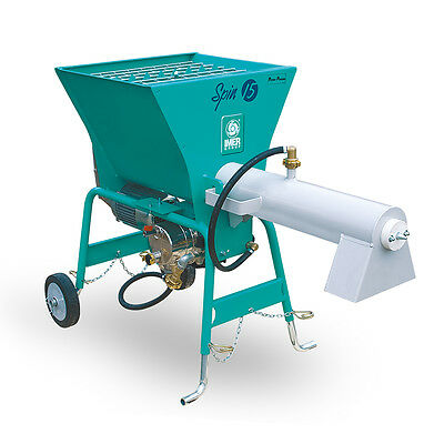 Imer Spin 15A - Continuous Render Mixer (15 Litres of Render Mixed Per Minute)
