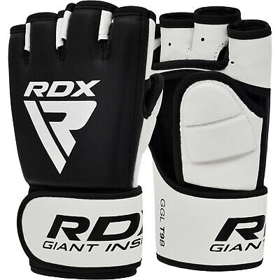 RDX Boxing MMA Gloves Grappling Martial Arts Training Punching Sparring UFC