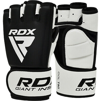 RDX MMA Gloves Grappling Martial Arts Training Punching Bag Sparring Muay Thai