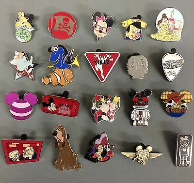 Disney Trading Pin Lot 100, No Duplicates 100% Tradable Grab Bag  DPF #.1