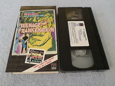 I Was a Teenage Frankenstein (VHS, 1957) - WHIT BISSELL / PHYLLIS COATS