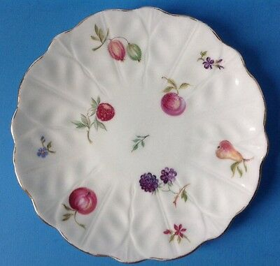 Aynsley Florida Bread Butter Plate Fruit Pattern English Bone China 6.25""