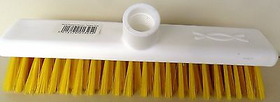 BROOM HEAD: JANTEX, SOFT HYGIENE, 30cm YELLOW, DN 831