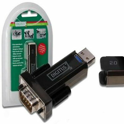 USB Serial Stick Dongle DIGITUS DA 70156 RS 232 Seriell DB9 ADAPTER Null Modem ♥