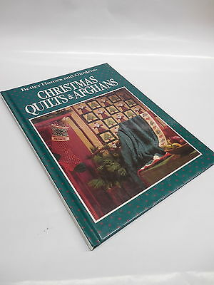 Christmas Quilts Afghans Sewing Guide Book Better Homes Gardens PATTERNS INTACT