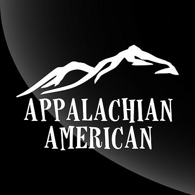 Appalachian American Decal Sticker - TONS OF OPTIONS