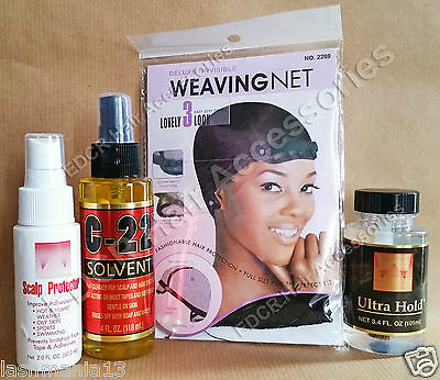 Walker Ultra Hold (Lace Front Toupee KIT* ALL IN ONE Grab yourself a Bargain