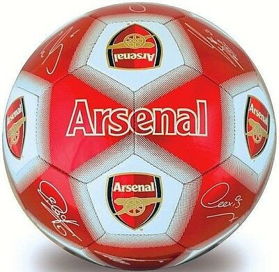 ARSENAL FC 2019 Size 5 Ball Official Signature Club ADULT Football Gift AFC