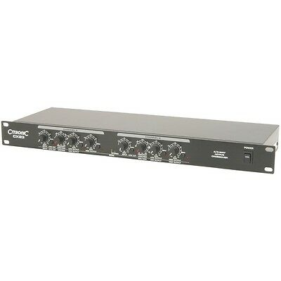 "Citronic CX23 2/3 Way Active 19"" Rack Mountable Crossover  CX 23"