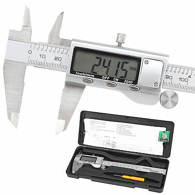 150mm 6'' LCD Digital Vernier Caliper Electronic Gauge Micrometer Precision Tool