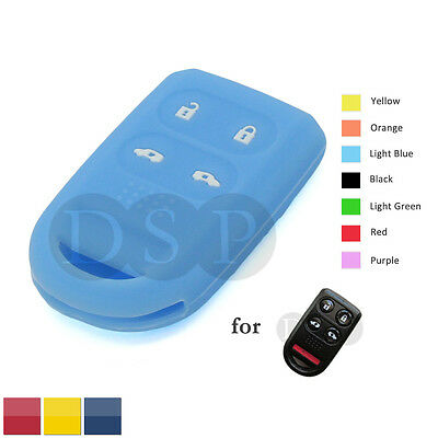 Silicone Skin Cover Shell fit for TOYOTA Remote Key Case Fob CV4401 RD
