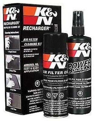 99-5000 K&N Air Intake Cleaner Recharger Kit With Spray Oil | FREE SHIPPING