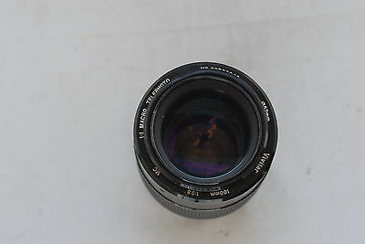 Vivitar Manual Focus 100mm f/2.8 1:1 Macro Telephoto for Nikon Ais in Ext Cond.