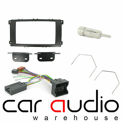 Ford Focus 2007-2011 Car Stereo D/Din Fascia & Steering Wheel Interface CTKFD24