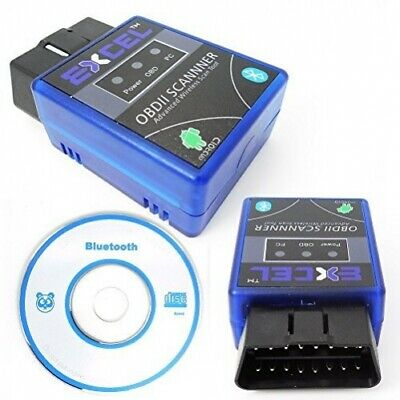 OBD2 ELM327 V1.5 Bluetooth Car Vehicle Scanner Android Torque Auto Scan Tool OBD