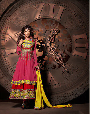 Designer anarkali salwar kameez wedding suit dress indian pakistani Bollywood