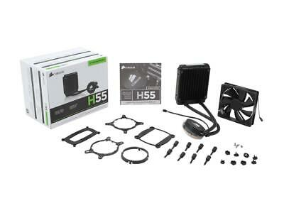 CORSAIR Hydro Series H55 Quiet Edition Water / Liquid CPU Cooler 120mm