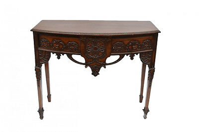 Large Antique 19th C Carved Mahogany IRISH SIDEBOARD Server