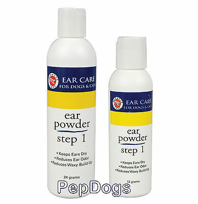 Gimborn R-7 Ear Powder Step 1 for Pet Dog Cat Keeps Ear Dry Reduces Wax Build Up