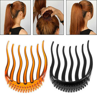 Useful Volume Inserts Hair Clip Bouffant Bumpits Ponytail Hair Comb Bun Maker