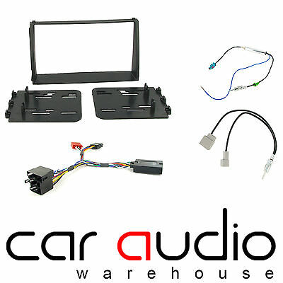 Kia Soul 2009-2012 Car Stereo D/Din Fascia Steering & Wheel Interface CTKKI09