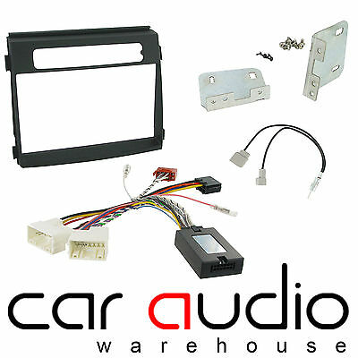 Kia Soul 2012 On Car Stereo D/Din Fascia Steering & Wheel Interface CTKKI19