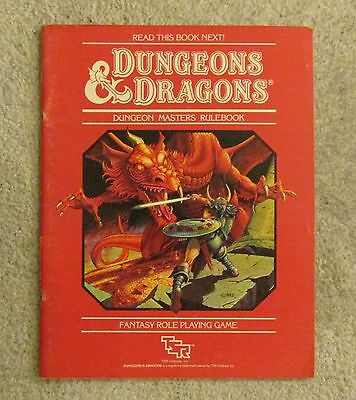 dungeons & dragons dungeon masters rulebook book  vg