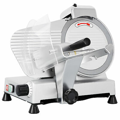 "Heavy-duty Commercial 10"" Blade Deli Meat Slicer 240W 530RPM Electric Cutter"