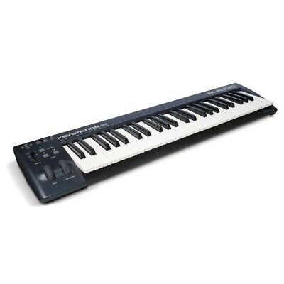 M-Audio Keystation 49 MKII USB MIDI Velocity Sensitive Keyboard Controller MK2